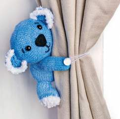 Koala Curtain Tie: Support Australian Animals - Knitting Pattern