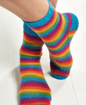 Learn to Knit Socks part 1