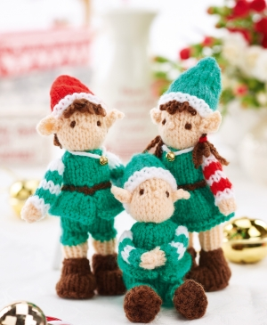 Mini Christmas Elves