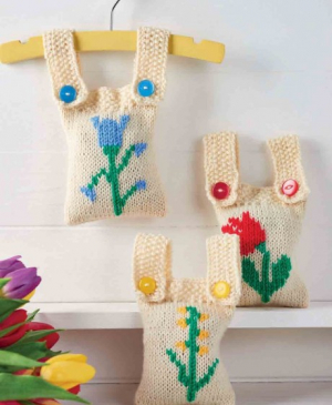 Embroidered Scented Sachets