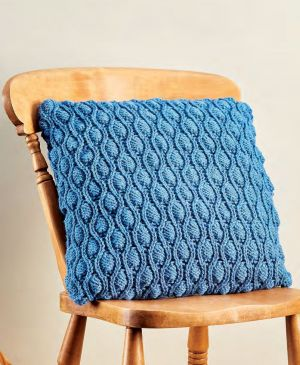 Learn to Knit A Cocoon Stitch Cushion