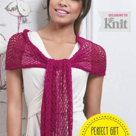 Party Wrap Knitting Pattern