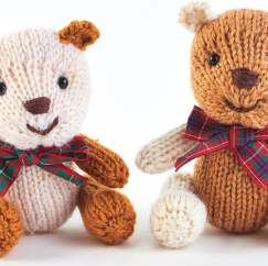 Mini Classic Teddies Knitting Pattern