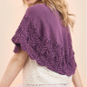 Lace Edged Shawl