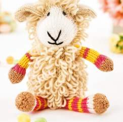 Larry the Lamb Knitting Pattern