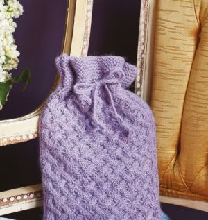 Cosy Cabled Hot Water Bottle Cover
