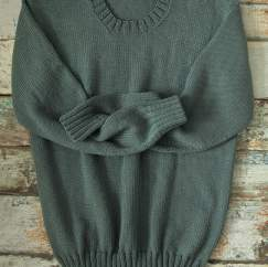 Men's Crew Neck Jumper Knitting Pattern