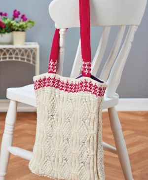 Mock Cable Eco Shopping Bag