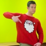 Santa Claus Christmas Jumper