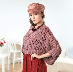 Oversized Lace Sweater Knitting Pattern