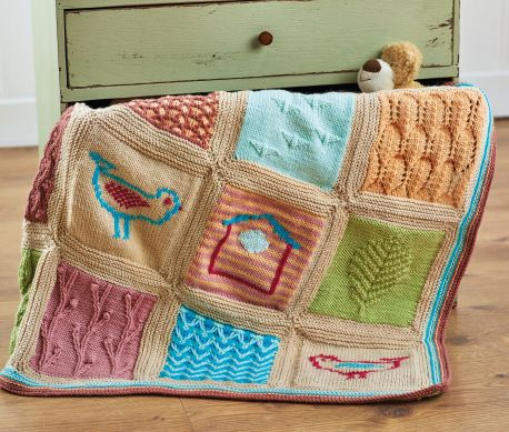 Little Birds Blanket