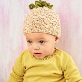 Easy Pineapple Baby Hat