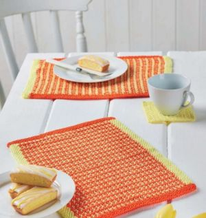 Colourful Placemats