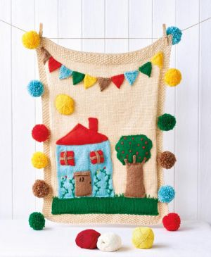 Pom-Pom House Play Mat