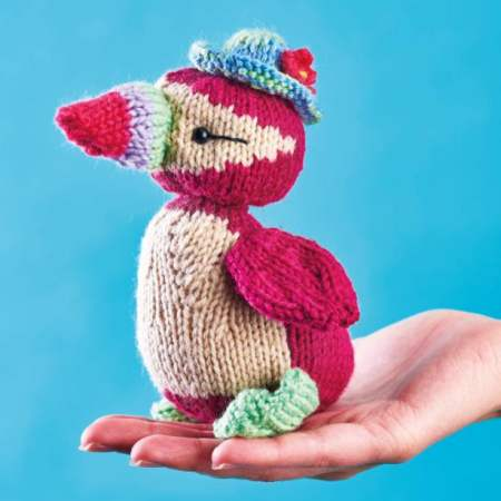 Puffin Toy | Free Knitting Patterns | Let's Knit Magazine