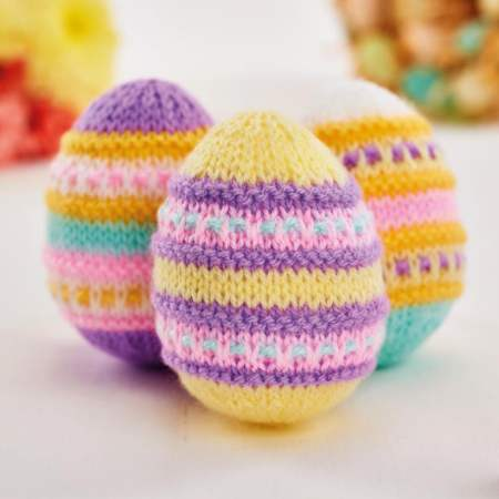 Quick Easter Eggs | Free Knitting Patterns | Let's Knit ...
