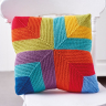 Colour Pop Rainbow Cushion