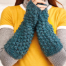 Raspberry Stitch Armwarmers