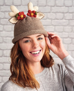 Reindeer Hat And Headband For Adults And Children