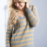 Stripe Rib Sweater