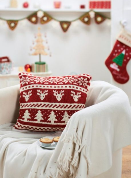 """christmas cushion"