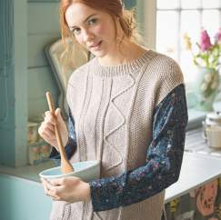Rowan Short Sleeved Top Knitting Pattern