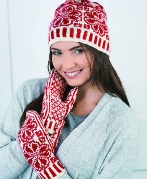 Nordic Hat & Mitts Set