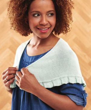 Learn To Knit A Pleated Shawl