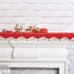 Christmas Shelf Runner