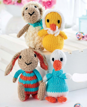 Quick Knit Easter Toys