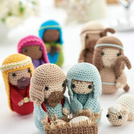 Crochet nativity: Part 1 | Free Knitting Patterns | Let's Knit Magazine