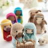 Crochet nativity: Part 1