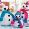 Simple Snowmen Family