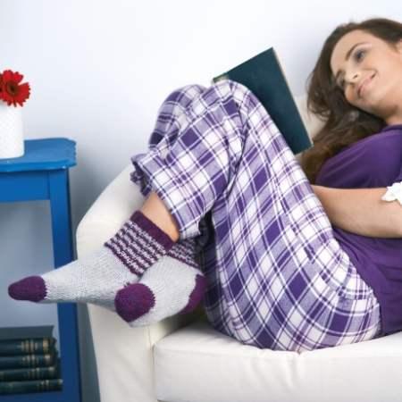 Bed Socks   Free Knitting Patterns   Let's Knit Magazine