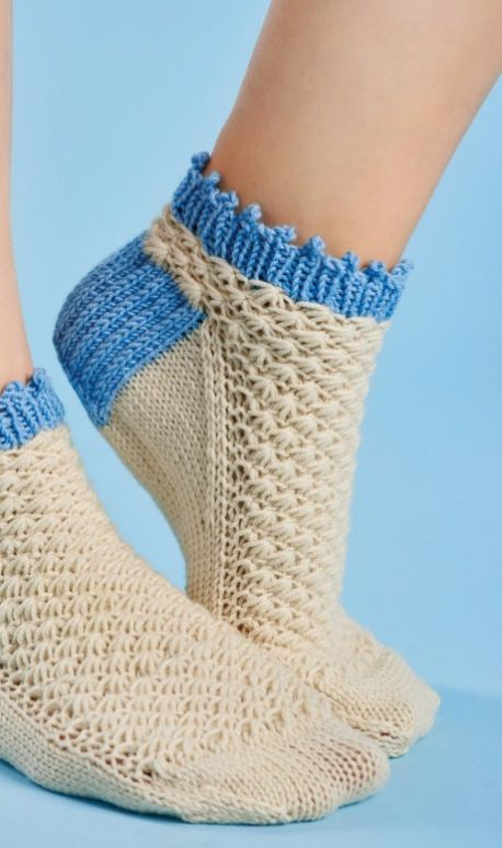 Textured Ankle Socks