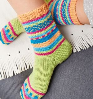 Socks On Two Needles