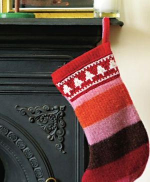 Felted Stocking For The Big Christmas Cast On