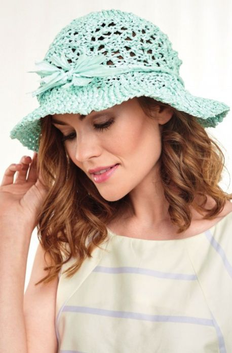 Paper Knitted Sunhat