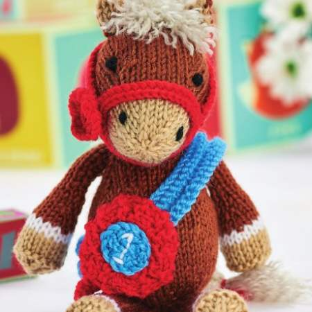 Theodore The Horse Knitting Pattern