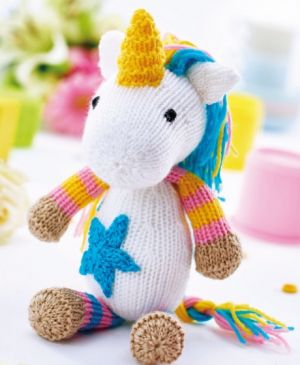 Unicorn Toy & Bootees