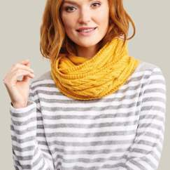 How To Knit A Twist Cowl Knitting Pattern