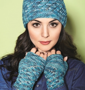 Vionette lace hat and gloves