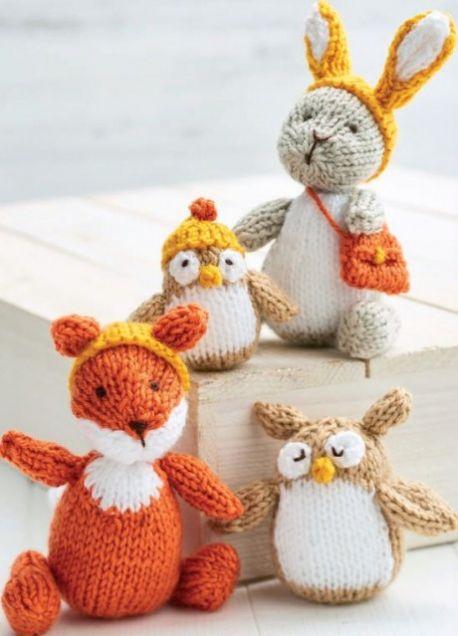 4 Woodland Toys