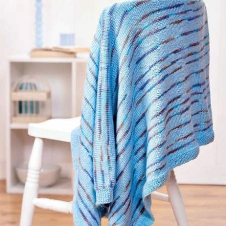 Beginner's blanket | Free Knitting Patterns | Let's Knit ...