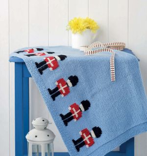 Little soldier blanket