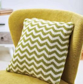 Simple Chevron Cushion