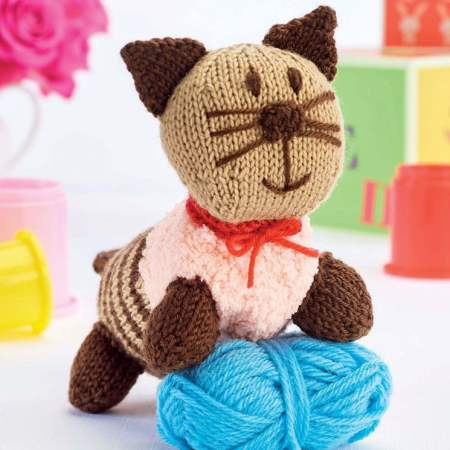 Cleo the Cat Knitting Pattern