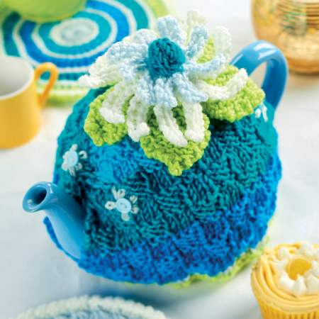 Knitted Teatime Set Knitting Pattern