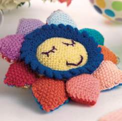 Flower Baby Toy Knitting Pattern