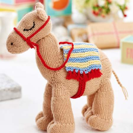Easy Knit Camel Toy | Free Knitting Patterns | Let's Knit ...